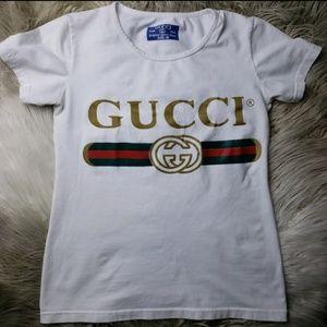 00647db57 Gucci Tops | Authentic Vintage Logo T Shirts M | Poshmark